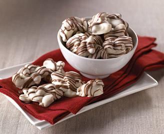 White Chocolatey Cashew Clusters
