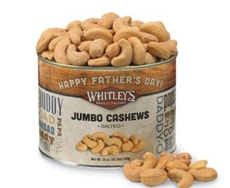 Fathers Day Cashews Tin