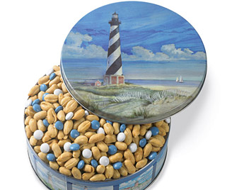 Coastal Lighthouse Tin