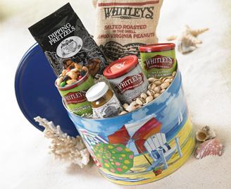Beach Bucket of Snacks