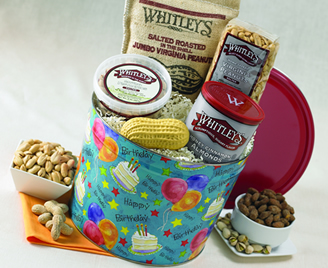 Birthday  Bucket<br> of Snacks